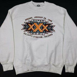 Vtg 90s Super Bowl XXX Sweatshirt